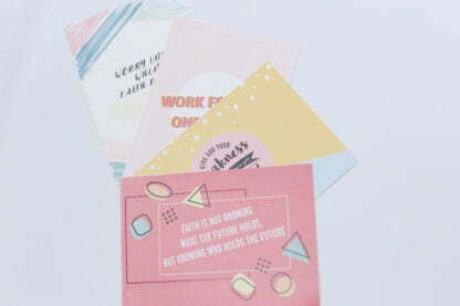 Postcards For Students who are stressed out